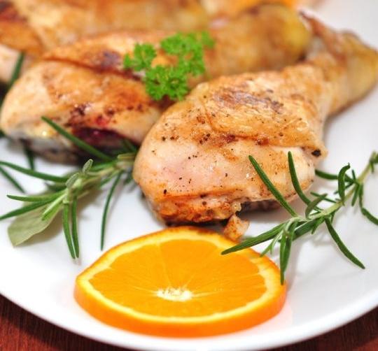 Kurczak w cytrusach