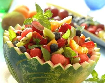 Deser z owocami dla dziecka
