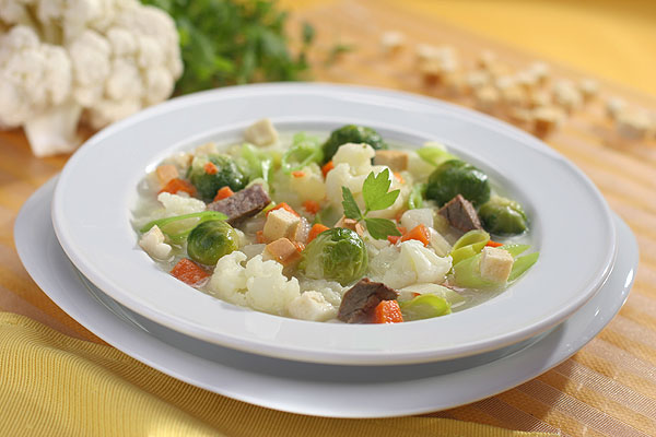 Dietetyczne zupy