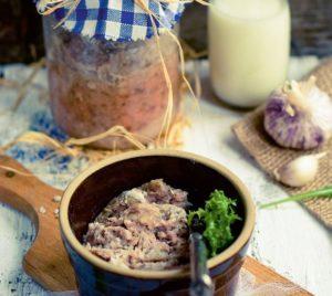 Jak pasteryzować mięso w słoiku?