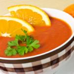 Krem z dyni i pomarańczy
