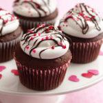 Walentynkowe babeczki czekoladowe